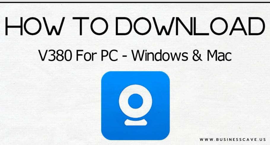 how to download v380